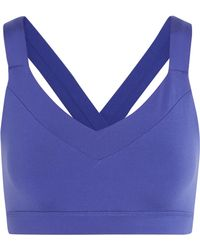 Yummie By Heather Thomson - Edie Stretch-jersey Sports Bra - Lyst