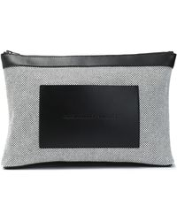Alexander Wang - Leather-paneled Canvas Cosmetic Case - Lyst