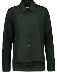 Carven - Asymmetric Cotton-poplin Shirt - Lyst