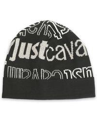 Just Cavalli - Intarsia-knit Beanie - Lyst