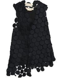 Marni - Asymmetric Cotton-blend Guipure Lace Top - Lyst