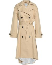 House of Dagmar - Cadyna Cotton-blend Gabardine Trench Coat - Lyst