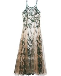 I.D Sarrieri - Pleated Embroidered Tulle Nightgown - Lyst