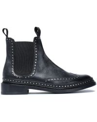Rag & Bone - Studded Leather Ankle Boots - Lyst