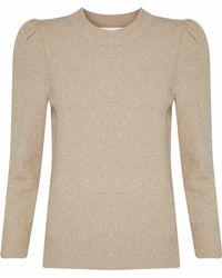 Co. - Metallic Stretch-knit Sweater - Lyst