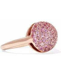 Carolina Bucci - 18-karat Rose Gold Sapphire Ring - Lyst