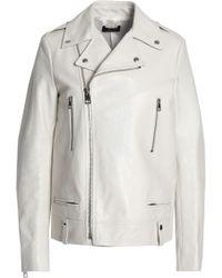 JOSEPH - Leather Biker Jacket - Lyst