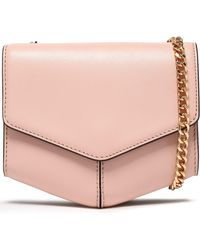 Sandro - Leather Shoulder Bag - Lyst
