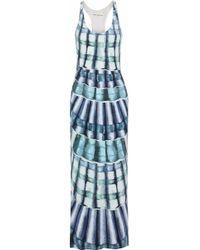 Mara Hoffman - Woman Printed Stretch-modal Jersey Maxi Dress Multicolor Size L - Lyst