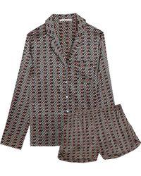 Stella McCartney - Silk-blend Pyjama Trousers - Lyst