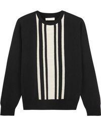 Chinti & Parker - Striped Intarsia Merino Wool Jumper - Lyst