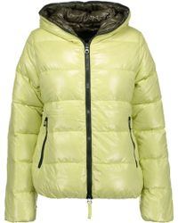 Duvetica - Thia Quilted Shell Hooded Down Coat - Lyst