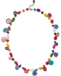 Rosantica - Tequila Gold-tone Stone Necklace - Lyst