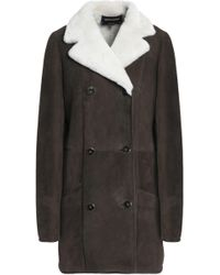 Vanessa Seward - Earl Double-breasted Shearling Coat - Lyst