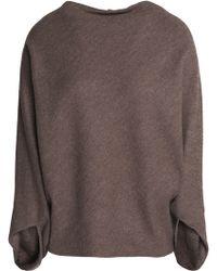 Chalayan - Draped Wool Seater - Lyst