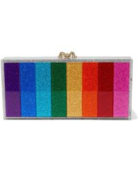 Charlotte Olympia - Penelope Rainbow Clutch - Lyst