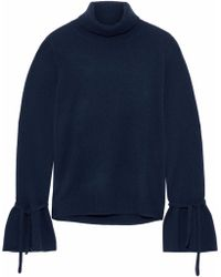 Iris & Ink - Kerri Ribbed Cashmere Turtleneck Jumper - Lyst