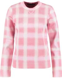 Marc By Marc Jacobs - Gingham Piqué Sweater - Lyst