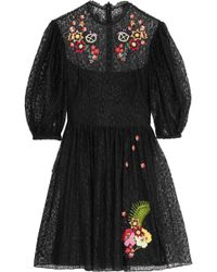 Temperley London - Leo Lace Dress - Lyst