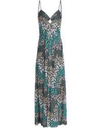 Missoni - Cutout Metallic Crochet-knit Maxi Dress - Lyst