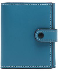 COACH - Leather Wallet - Lyst