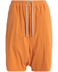 DRKSHDW by Rick Owens - Cotton-jersey Shorts - Lyst