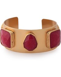 Kate Spade - Gold-tone Crystal Bracelet - Lyst