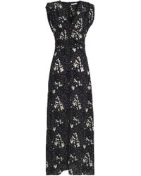 Tomas Maier - Printed Silk Maxi Dress - Lyst