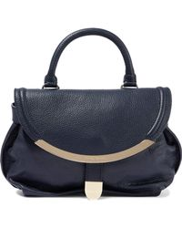 See By Chloé - Lizzie Small Pebbled-leather Shoulder Bag - Lyst