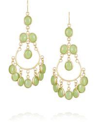 Isharya - Gold-plated Quartzite Earrings - Lyst