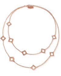 Arme De L'Amour - Gold-tone Necklace - Lyst
