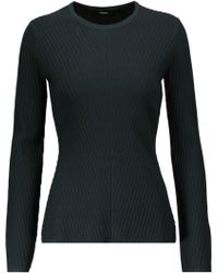 Theory - Ardesia Ribbed-knit Sweater - Lyst