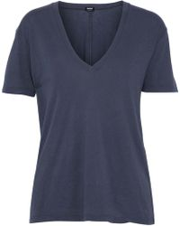 Monrow - Modal And Supima-blend Jersey Top - Lyst