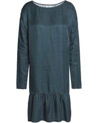 Day Birger et Mikkelsen - Gathered Printed Crepe De Chine Dress - Lyst