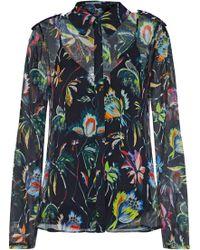 Jason Wu - Floral-print Silk-georgette Shirt - Lyst