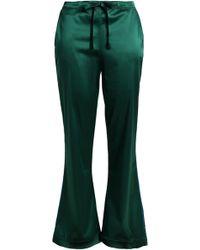 I.D Sarrieri - Silk-blend Satin Pyjama Trousers - Lyst