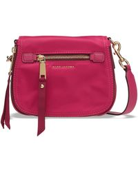 Marc Jacobs - Trooper Nomad Small Shell Shoulder Bag Fuchsia - Lyst