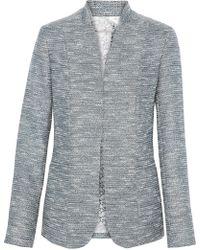 Elie Tahari - Tori Metallic Tweed Blazer - Lyst