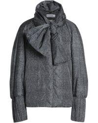 Jil Sander - Bow-embellished Shell Jacket - Lyst