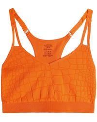 Yummie By Heather Thomson - Jacquard-knit Sports Bra - Lyst
