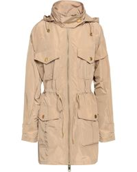 MICHAEL Michael Kors - Shell Hooded Jacket - Lyst