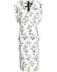Marni - Crepe-jacquard Dress - Lyst