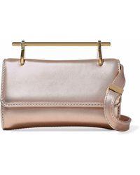 M2malletier - Glittered Leather Shoulder Bag - Lyst