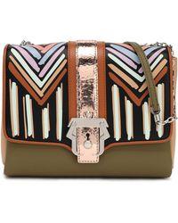 Paula Cademartori - Color-block Leather Shoulder Bag - Lyst
