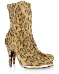 Vivienne Westwood - Leopard-print Faux Fur Boots - Lyst