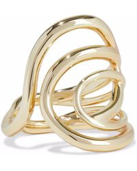 Elizabeth and James - Gold-tone Ring - Lyst