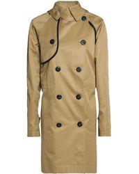COACH - Convertible Cotton-gabardine Trench Coat Sage Green - Lyst