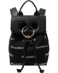 JW Anderson - Mini Pierce Logo Backpack - Lyst