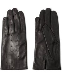 Sandro - Stitched Leather Gloves - Lyst