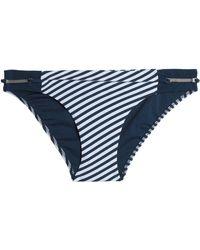 Heidi Klum - Printed Bikini Briefs - Lyst